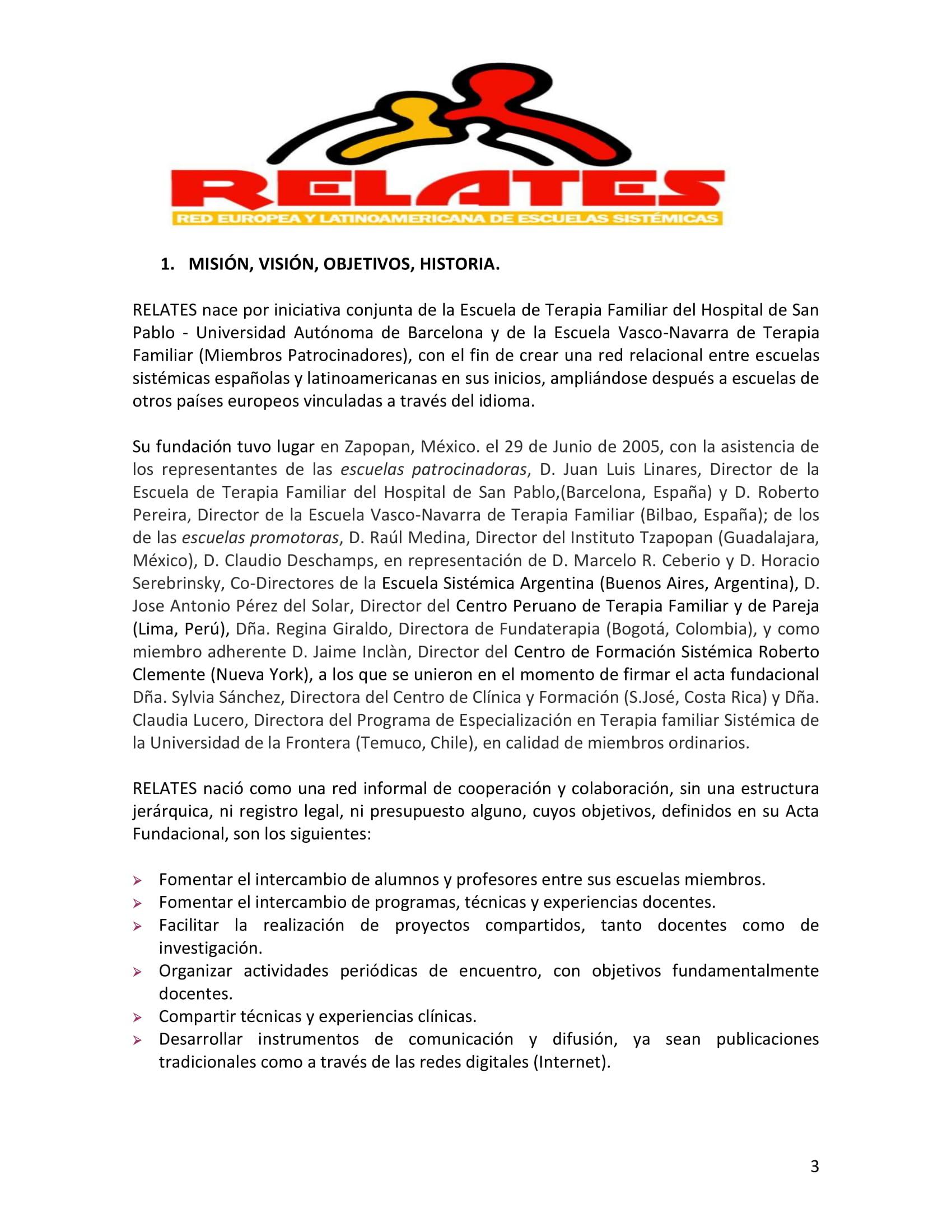 Estatutos Red Relates